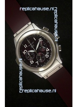 Hublot MDM Geneve Japanese Watch in Dark Red Dial