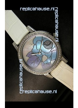 Jaeger LeCoultre Japanese Quartz Movement Ladies Watch - White Dial