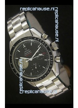 Omega Speedmaster Professional 0258 GMT Watch in Black Dial
