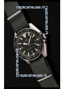 Omega Seamaster 300 Military Swiss Watch in Steel