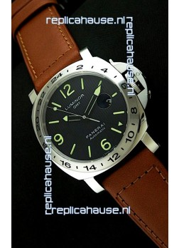 Panerai PAM029M Luminor GMT Swiss Watch - 1:1 Ultimate Mirror Replica