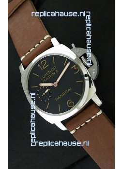 Panerai Luminor Marina Swiss Watch - 47MM in Brown Strap