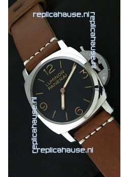 Panerai Luminor Swiss Watch - 47MM in Brown Strap