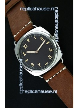 Panerai Radiomir California Vintage Homage Watch in Black Dial