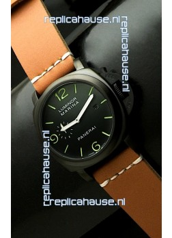 Panerai Luminor Marina Black Seal PVD Swiss Watch