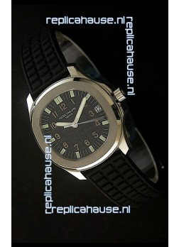 Patek Philippe Aquanaut Swiss Watch in Black Dial