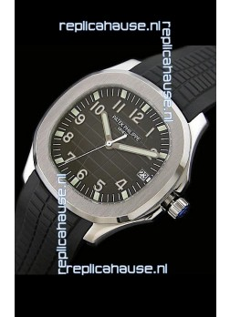 Patek Philippe Aquanaut Swiss Mens Watch in Coffee Checked Dial