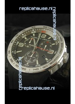 Porsche Design Flat Six P'6320 Japanese Watch in Grey