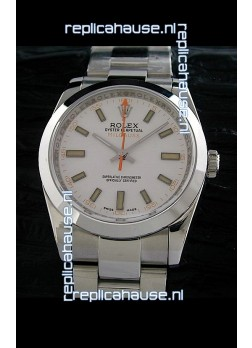 Rolex Oyster Perpetual Milgauss Swiss Replica Watch