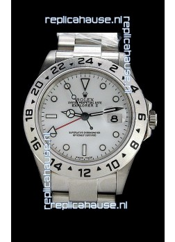 Rolex Explorer II Japanese Replica Automatic Watch in White
