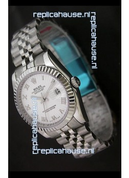 Rolex Datejust Oyster Perpetual Swiss Replica Watch in Roman Hour Markers