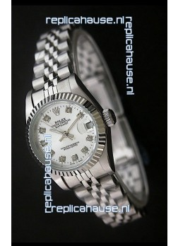 RolexDatejust Oyster Perpetual Superlative ChronoMeter Japanese Watch in Diamond Markers