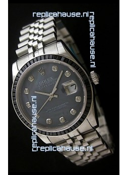 Rolex Datejust Swiss Replica Automatic Watch in Grey Dial