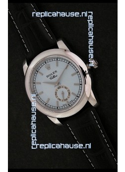Rolex Cellini Japanese Replica Silver Watch