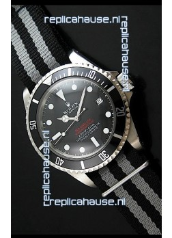 Rolex Oyster Vintage Date Sea-dewller Submariner Japanese Replica Watch in Black Dial