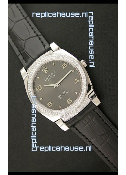 Rolex Cellini Japanese Replica Watch in Arabic Markers
