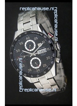 Tag Heuer Carrera Tachymeter Swiss Chronograph Watch