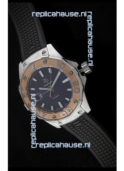 Tag Heuer Aquaracer Calibre 5 Swiss Automatic Watch in Black Dial