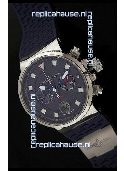 Ulysse Nardin Marine Blue Seal Chronograph Swiss Watch