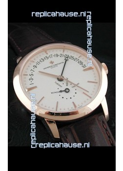 Vacheron Constantin Patrimony Japanese Automatic Gold Watch