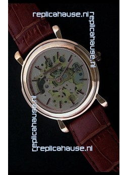 Vacheron Constantin Cabinotiers Japanese Quartz Watch in Rose Gold