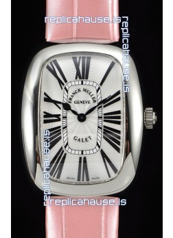 Franck Muller Galet Ladies Swiss Quartz Pink Strap Watch