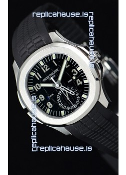 Patek Philippe Aquanaut 5164A 1:1 Mirror Watch Black Dial