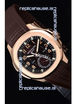 Patek Philippe Aquanaut 5164R 1:1 Mirror Watch Brown Dial
