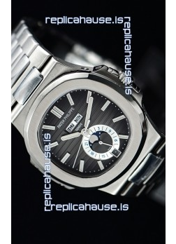 Patek Philippe Nautilus 5726A 1:1 Mirror Swiss Watch Grey Dial
