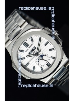 Patek Philippe Nautilus 5726A 1:1 Mirror Swiss Watch White Dial