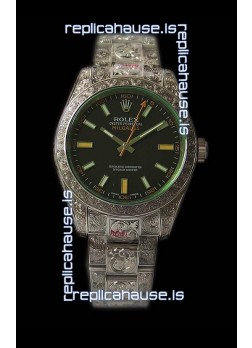 Rolex Milgauss 116400 MadeWorn Swiss Replica Watch