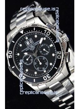 Tag Heuer Aquaracer Chronograph Swiss Quartz Black Dial Watch