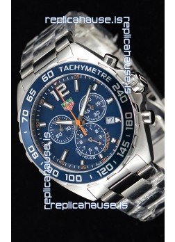 Tag Heuer Formula 1 Chronograph Swiss Quartz Replica Watch Blue Dial
