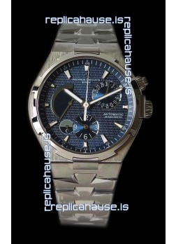 Vacheron Constantin Overseas Dual Time Blue Dial Swiss Watch