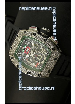 Richard Mille Filippe Massa Edition Titanium Swiss Replica Watch