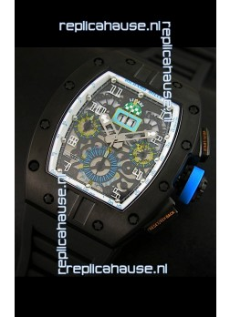 Richard Mille RM011 Filipe Massa PVD Casing Edition Swiss Replica Watch