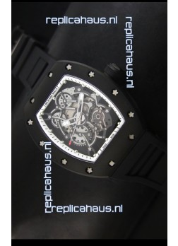 Richard Mille RM055 Bubba Watson Swiss Replica Watch in White Indexes