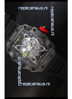Richard Mille RM35-01 Rafael Nadal Edition Swiss Replica Watch in Black Indexes