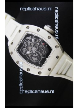 Richard Mille RM055 Bubba Watson Swiss Replica Watch in White
