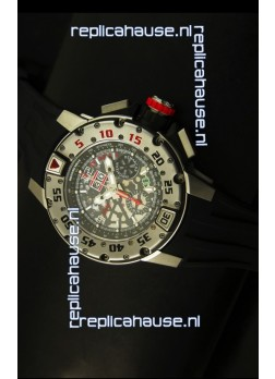 Richard Mille RM032 Swiss Replica Watch in Titanium Finish