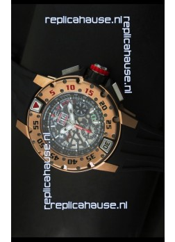 Richard Mille RM032 Swiss Watch in Pink Gold Finish