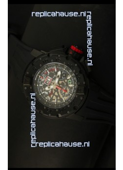 Richard Mille RM032 Swiss Replica Watch in PVD Coating