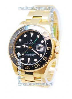 Rolex GMT Masters II 2011 Edition Replica Gold Watch
