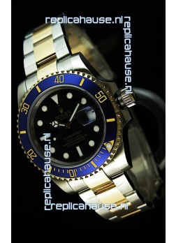 Rolex Submariner Swiss Replica Watch in Two Tone Case - Super Luminous Markers