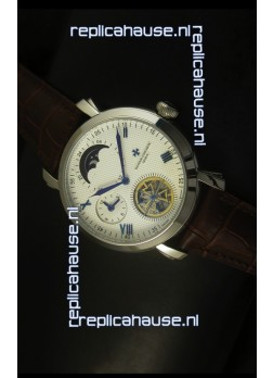 Vacheron Constantin Moonphase Tourbillon Japanese Movement Watch
