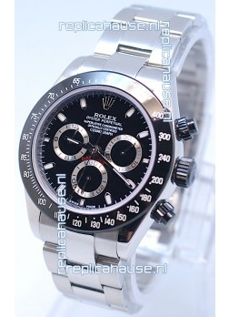 Rolex Project X Daytona Limited Edition Series II Cosmograph MonoBloc Cerachrom Swiss Watch in Black Face