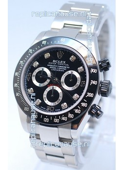 Rolex Project X Daytona Limited Edition Series II Cosmograph MonoBloc Cerachrom Swiss Watch in Diamond Markers