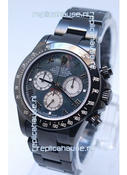 Rolex Daytona Cosmograph Project X Design Black Out Edition Series II Swiss Watch