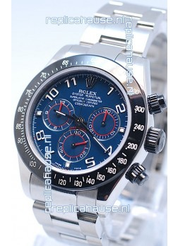 Rolex Project X Daytona Limited Edition Series II Cosmograph MonoBloc Cerachrom Swiss Watch in Blue Dial
