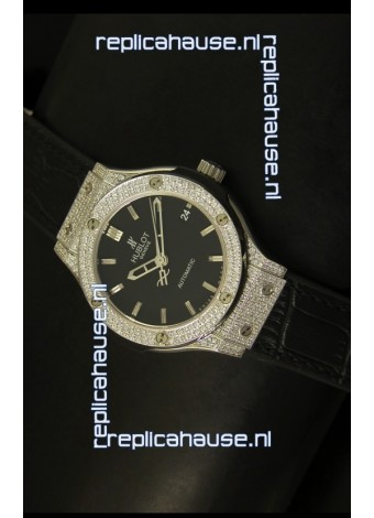 Hublot Classic Fusion 39MM Diamonds Encrusted Case